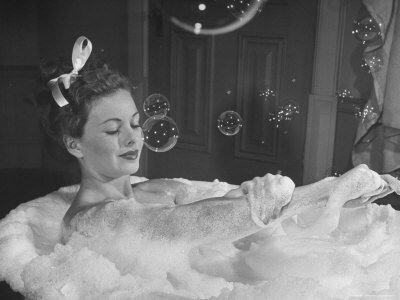 664373Jeanne-Crain-Taking-Bubble-Bath-for-Her-Role-in-Movie-Margie-Posters