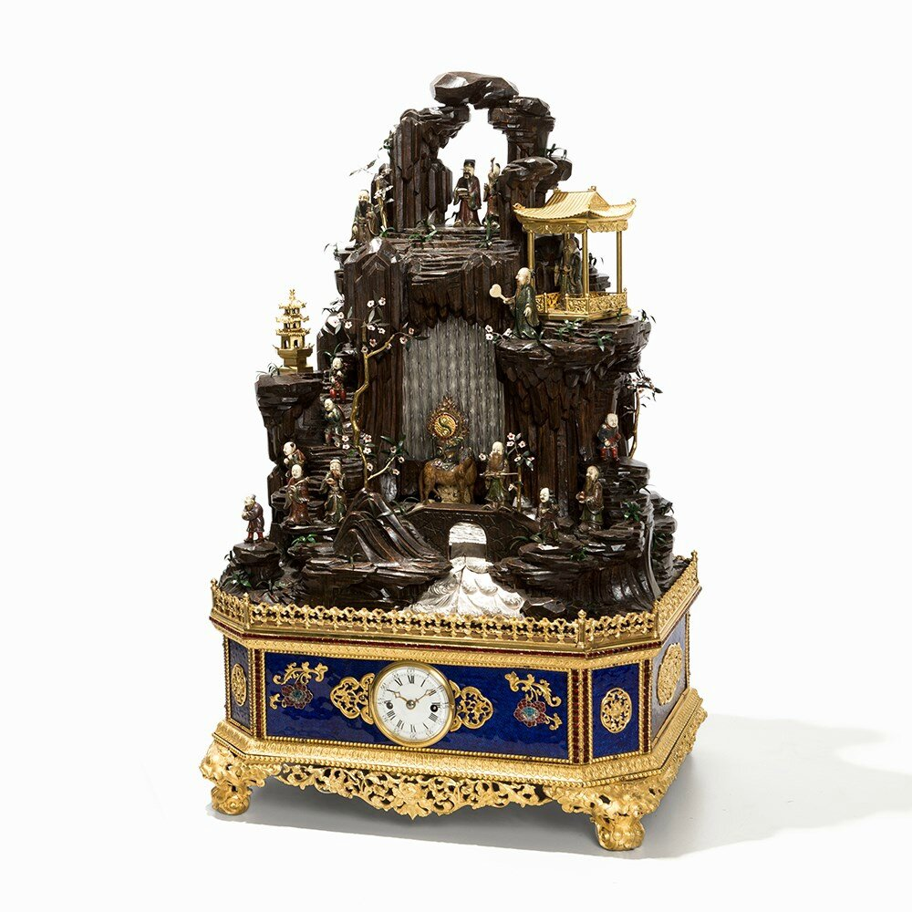 $3.83 Million Chinese Clock Sets Record for Online Auction of Asian Art