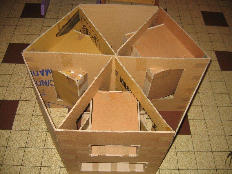 Table basse pour le salon milie et ses 1001 cartons - Fabriquer une table de salon ...