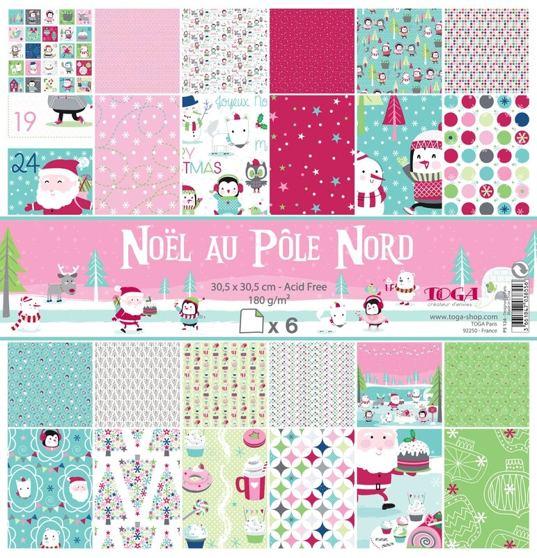 PS124 noel pole nord x12