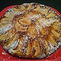 Gateau aux pommes norvégien (amande, canelle, cardamome)
