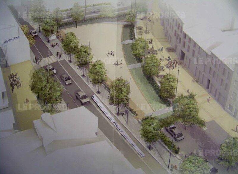 projet place Saint-Pierre