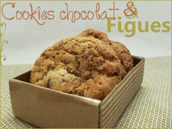 Cookies chocolat figues 1