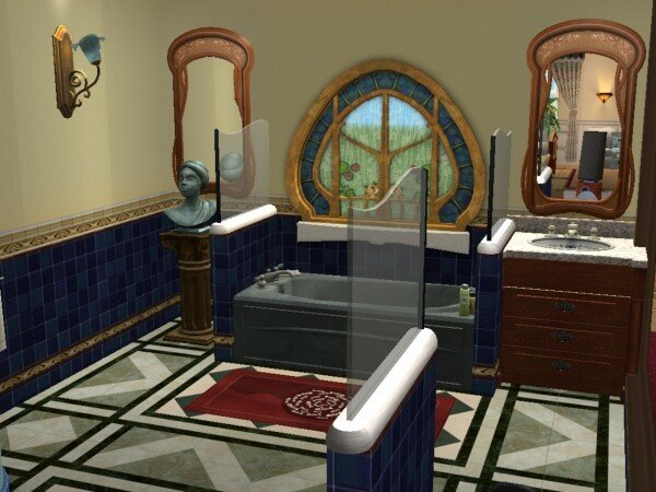 villa dolly le jardin maisons deco sims2. Black Bedroom Furniture Sets. Home Design Ideas