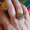 Bague Haley - Smoke Topaze 2