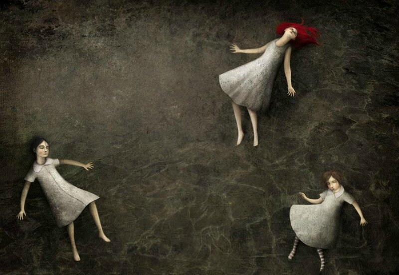 Gabriel Pacheco 1973 - Mexican Surrealist Visionary painter - Tutt'Art@ (56)