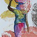 N°42 - 44 croquis sur fond coloré / sketches on colourful background (2)