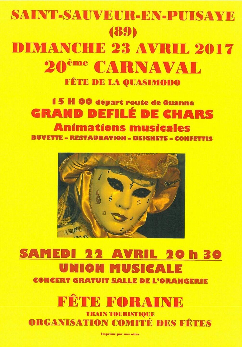 Dimanche 23 Avril, fête de la Quasimodo à St Sauveur !