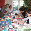 Ateliers blouses roses
