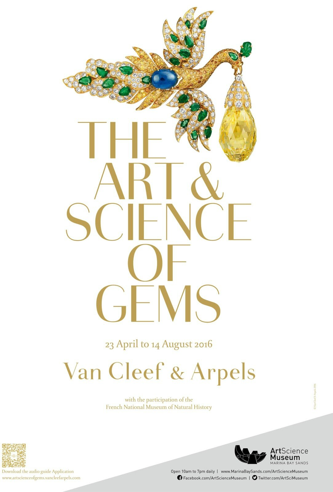 Van Cleef & Arpels: The Art and Science of Gems at ArtScience Museum, Singapore
