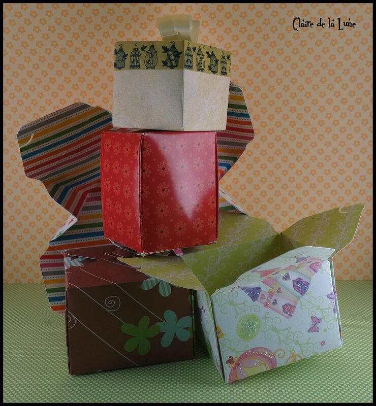 Gift Box Punch Board de WeR