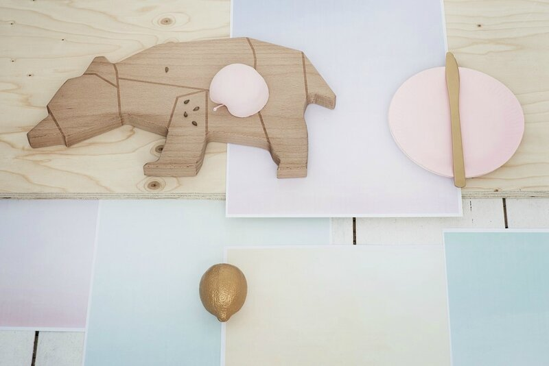 Cuttingboard bear 1