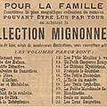 Collection mignonnette