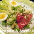 La petite salade du dimanche soir