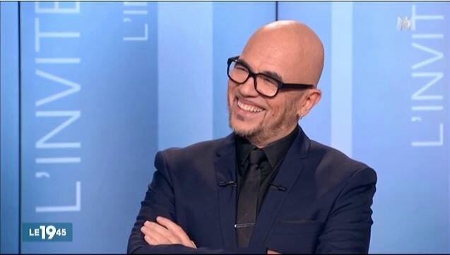 """Pascal Obispo au 19.45 de M6 pour la sortie de """"Billet de Femme"""""""
