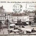Cours de la république et entrée de la rue jules lecesne