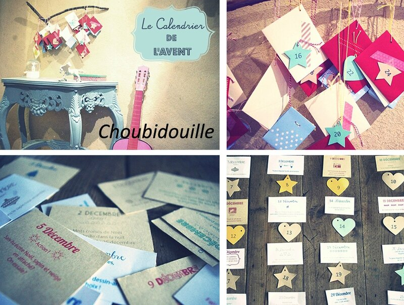 Calendrier Choubidouille