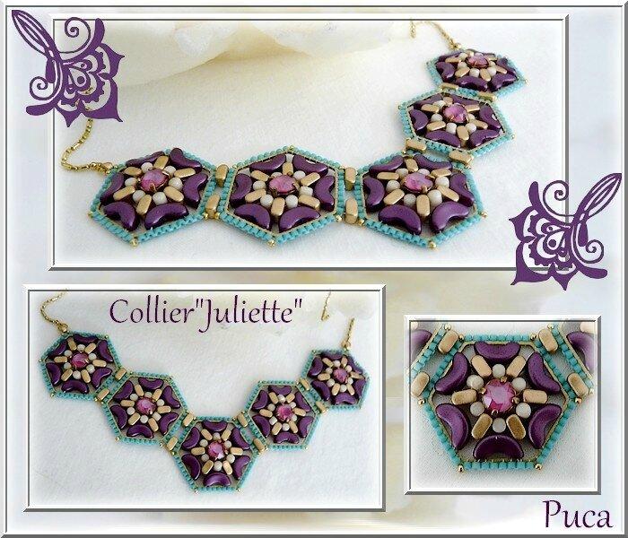 Planche Collier Juliette