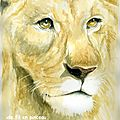 lion (aquarelle)