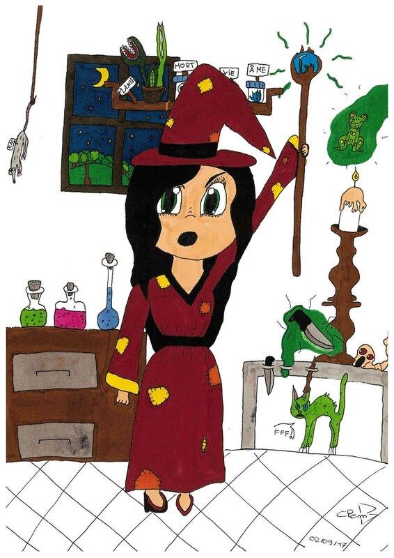 clementine breuil concours comics 11ans