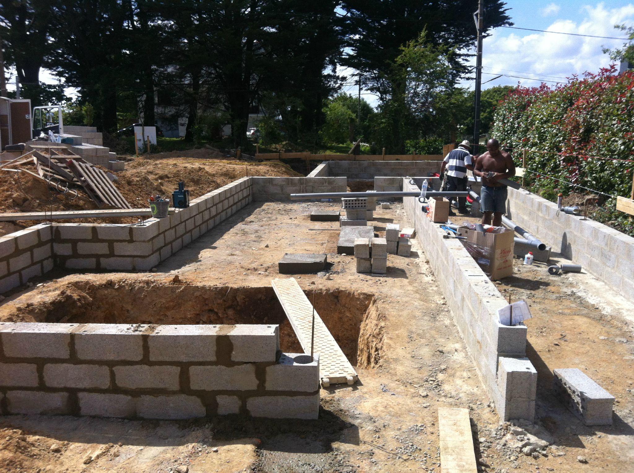 Juin 2012 on continue vide sanitaire r seaux vacuation eaux us es - Le vide sanitaire est il obligatoire ...