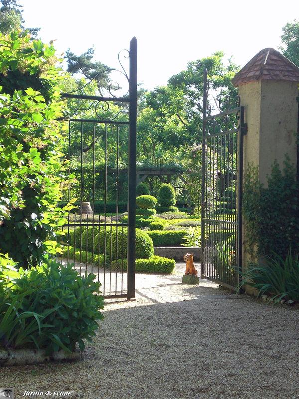 Visite de l'Arboretum fin mai 2009