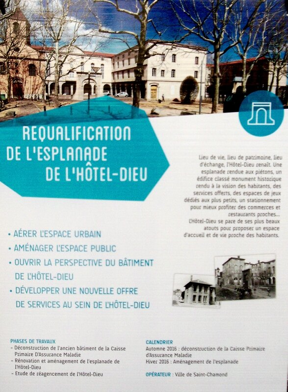 affiche requalification esplanade Hôtel-Dieu
