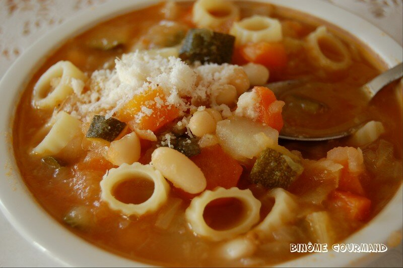 le minestrone une soupe savoureuse venue d 39 italie bin me gourmand. Black Bedroom Furniture Sets. Home Design Ideas