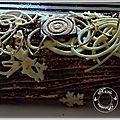 La bûche au tiramisu de christophe felder........une belle idée pour les fêtes