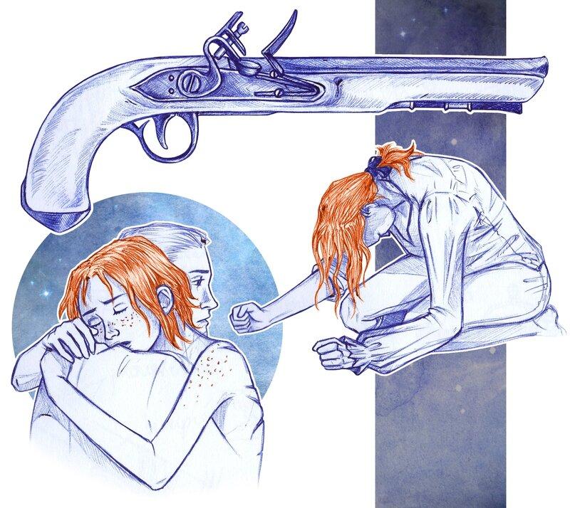 Croquis - Gun & Drama