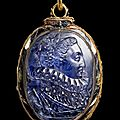 Queen elizabeth i cameo locket