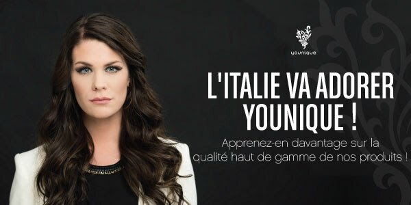 L'ITALIE va adorer YOUNIQUE