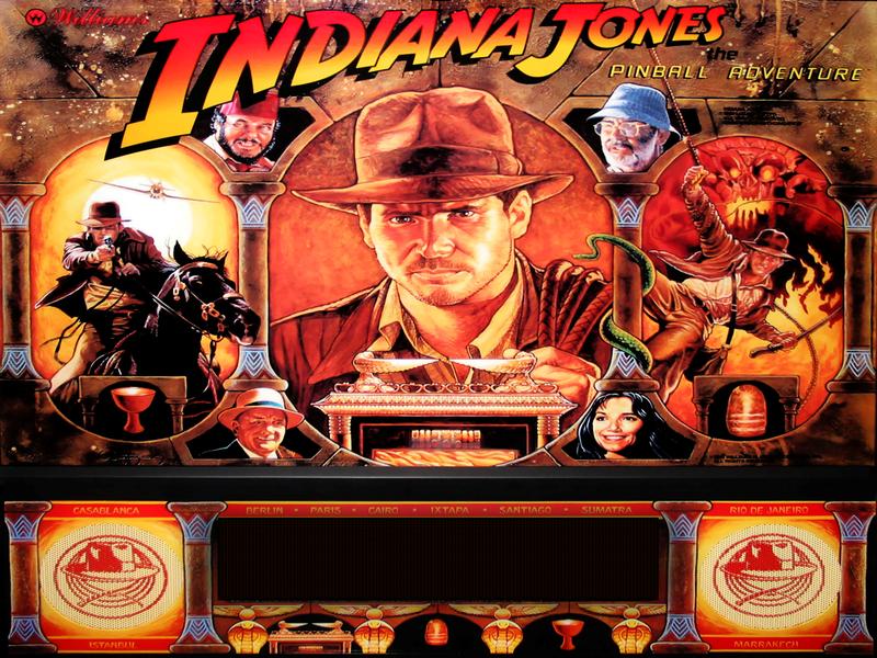Indina Jones Pinball