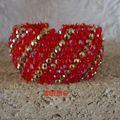 Capricho rouge et or