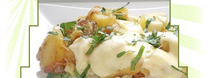 pommes de terre aux oignons et fromage fondu au cookeo