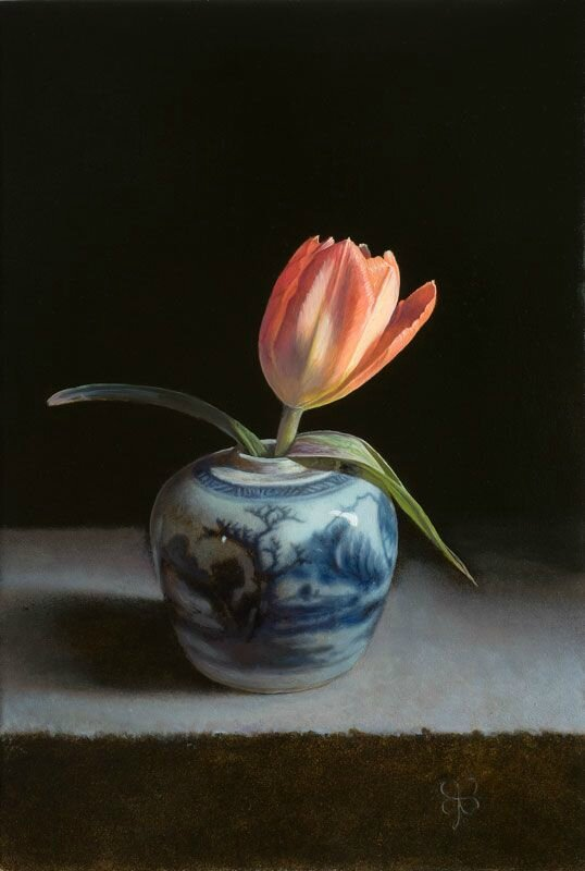 Erkin, Still lifes with Chinese ceramics