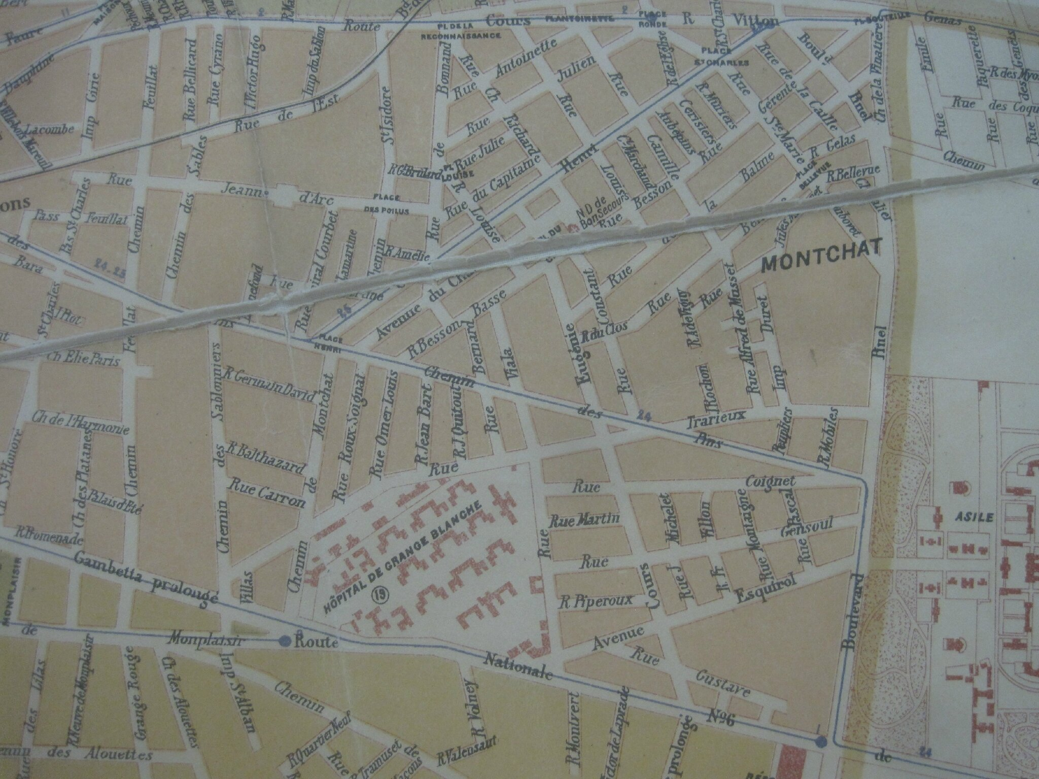 Plan de Lyon 1922