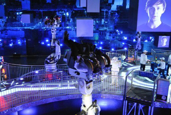 Inauguration r ussie pour danse avec les robots by martin solveig blog futu - Futuroscope danse avec les robots ...