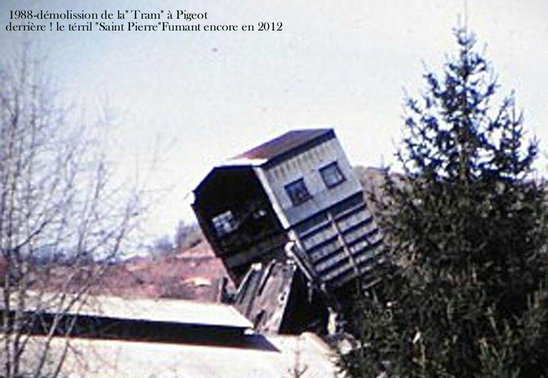 12- tram PIGEOT dinamitée en 1988