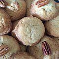 Biscuits aux noix de pécan