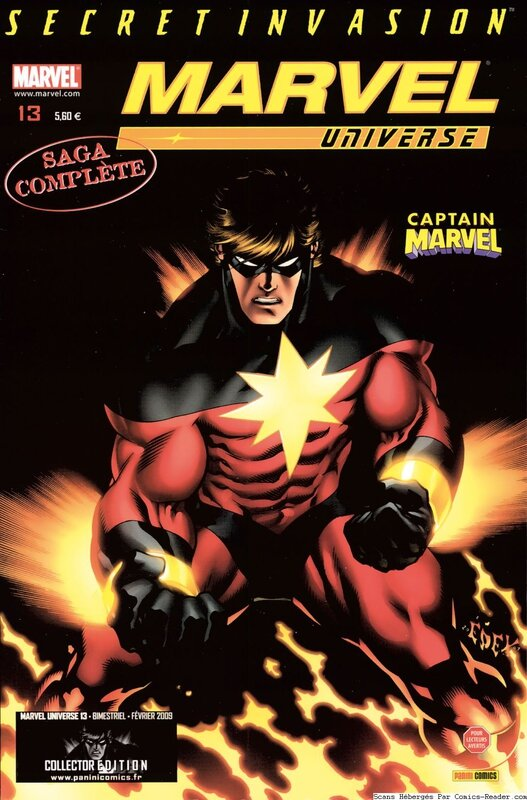 marvel universe 13 captain marvel