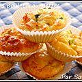 Muffins salés poulet-courgettes