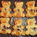 Petits oursons moelleux vanille et chocolats