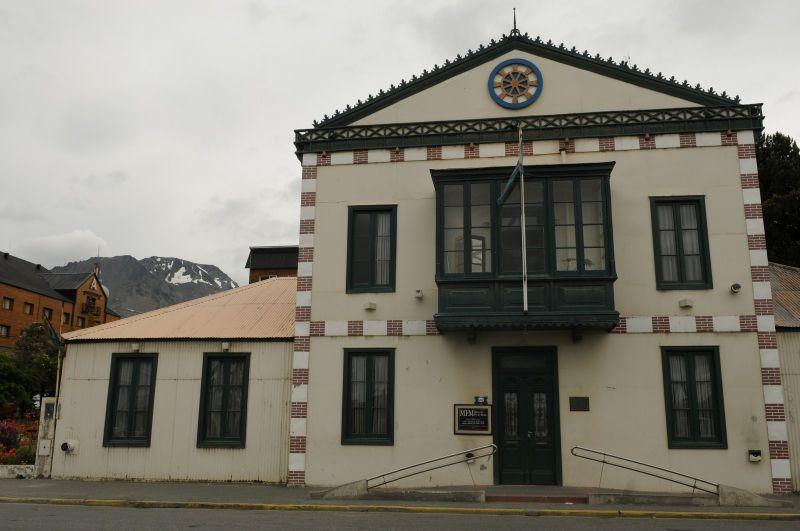 Ushua a ancienne maison du gouverneur photo de ushua a chili sin carne for Photos maisons anciennes