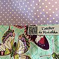 Louna & butterfly