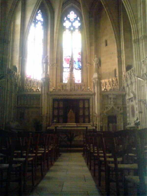 Basilique St Seurin, Chapelle ND de la Rose