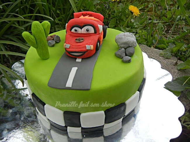 disney cars cake prunillefee