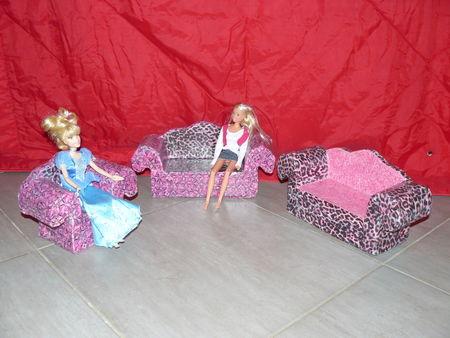 canap en carton recyclage et cie. Black Bedroom Furniture Sets. Home Design Ideas
