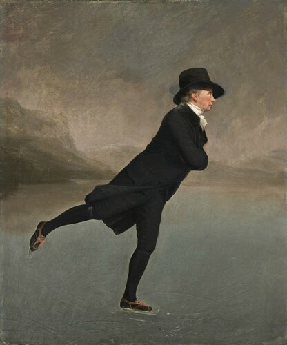 Henry Raeburn Reverend Dr Robert Walker (1755 - 1808) Skating on Duddingston Loch National Galleries of Scotland