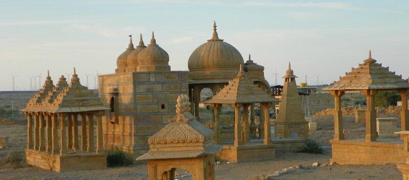 Cénotaphes Royaux Jaisalmer 16